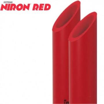 Tubo Niron Red De 40 5,80 Mt