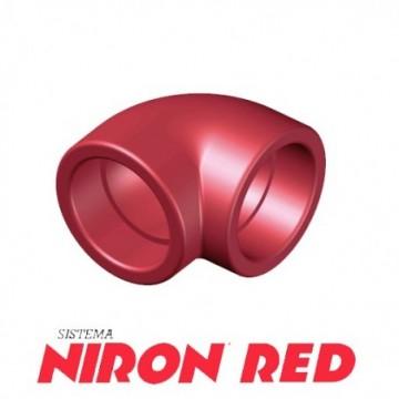 Codo 90º Niron Red De 63