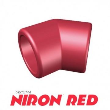 Codo 45º Niron Red De 75