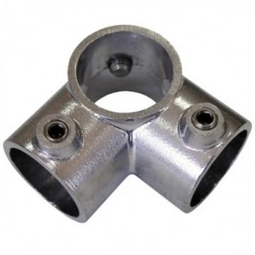 Codo 3-Bocas Aluminio 1