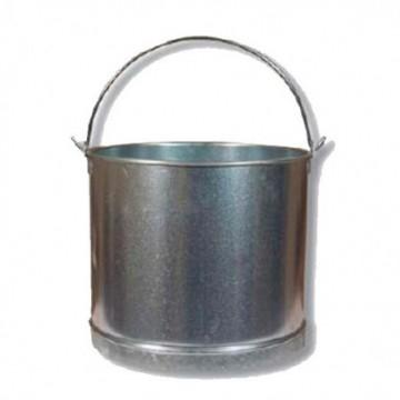 Cubo Galvanizado Recto De 11