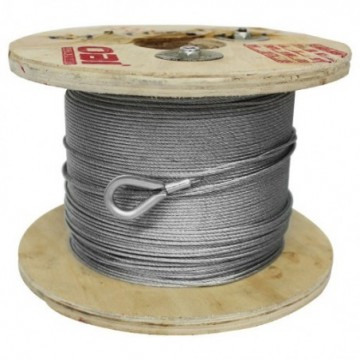 R/Cable Acero 6X7+1 De 6Mm...