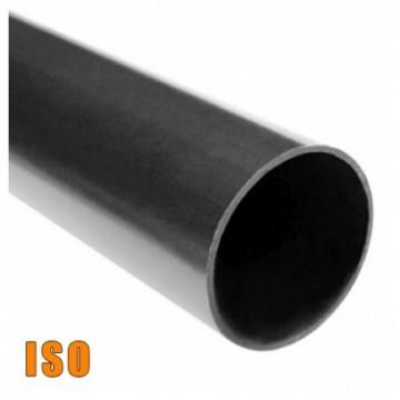 Tubo Negro Iso De 2 1/2 6Mt