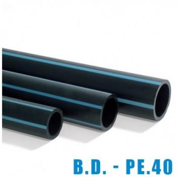Tubo Polietileno B D 25/6...