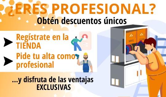 ¿Eres profesional?
